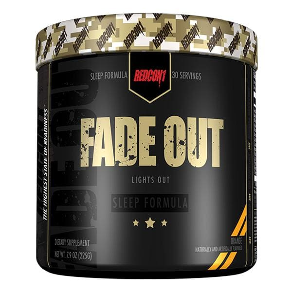 Fade Out by Redcon1 - Sleep Support Supplement