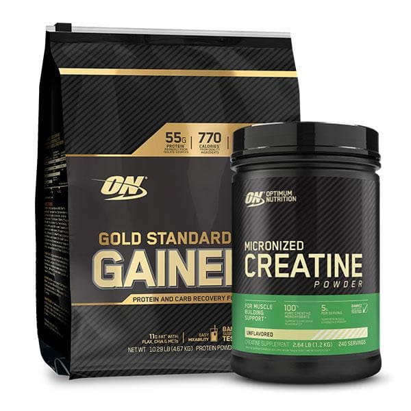 Gold Standard Gainer + Creatine by Optimum Nutrition