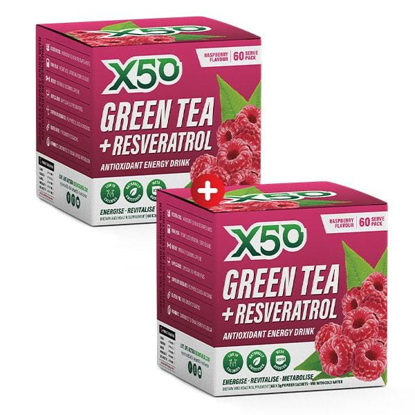 2 X Green Tea X50 by Tribeca Health! - SUPPLEMENT PACK