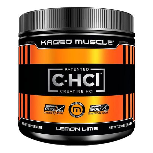 C-HCI Creatine by Kaged Muscle - 75 Serves / Lemon Lime -