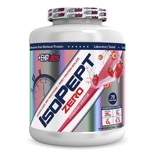 IsoPept Zero by EHP Labs - 2.27KG - 5.0LB / Strawberry