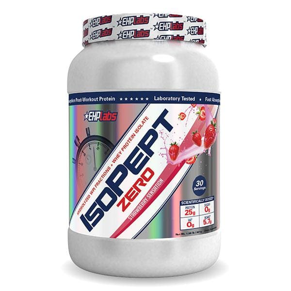 IsoPept Zero by EHP Labs - 0.9KG - 2.0LB / Strawberry
