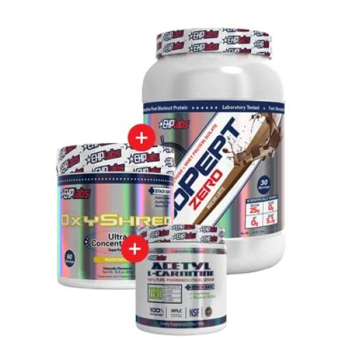IsoPept Zero + OxyShred + Acetyl L-Carnitine by EHP Labs! Genesis SUPPLEMENT PACK 347522747649 347522747649
