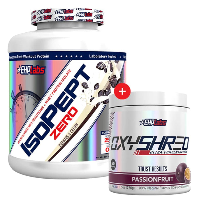 IsoPept Zero + OxyShred by EHP Labs! Genesis SUPPLEMENT PACK 347522747649 347522747649