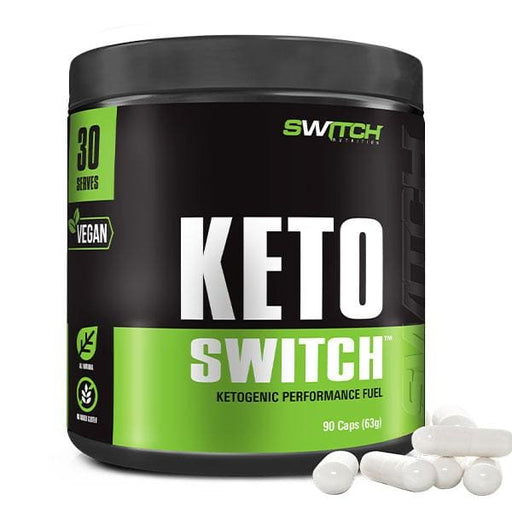 Keto Switch Capsules by Switch Nutrition - 90 Capsules / N/A