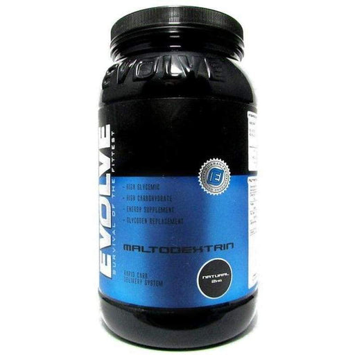 25 Serves / Natural Maltodextrin by Evolve - Glycogen Replenishment! Evolve CARBOHYDRATES POS-127631 9340095000273