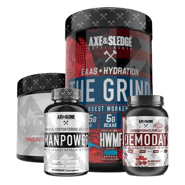 Mature Adult - Male - Muscle Gain Bundle - Advanced -