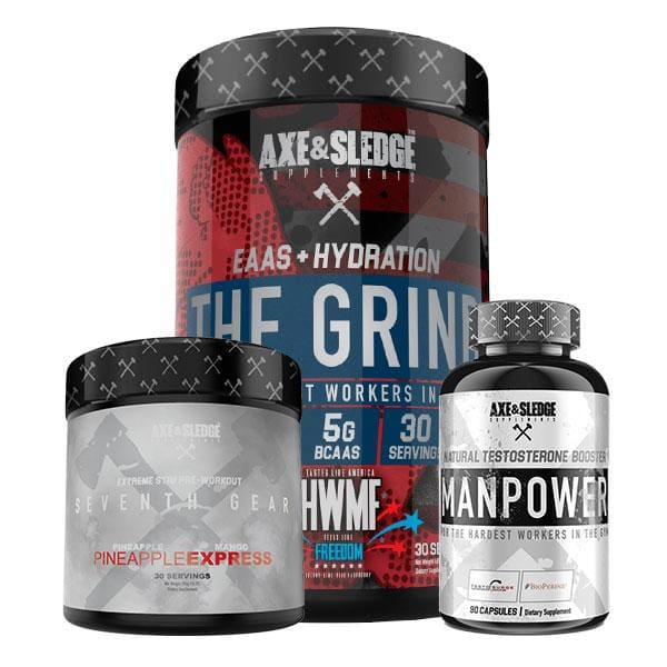 Mature Adult - Male - Muscle Gain Bundle - Intermediate -
