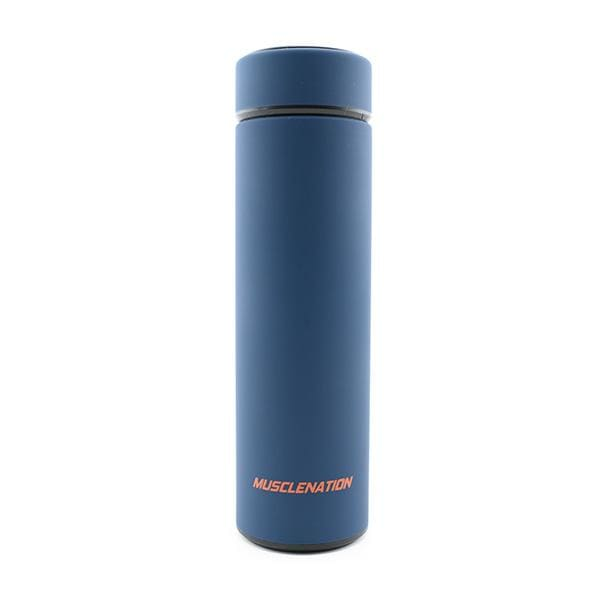 Muscle Nation Steel Bottle by Muscle Nation - Blue -