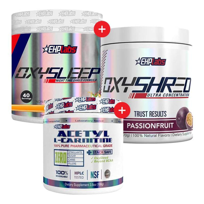EHP Labs OxyShred + OxySleep + Acetyl L-Carnitine by EHP Labs!