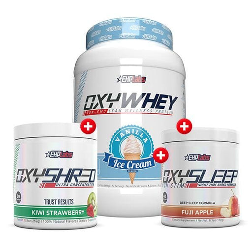 OxyWhey + OxyShred + OxySleep by EHP Labs! - SUPPLEMENT PACK
