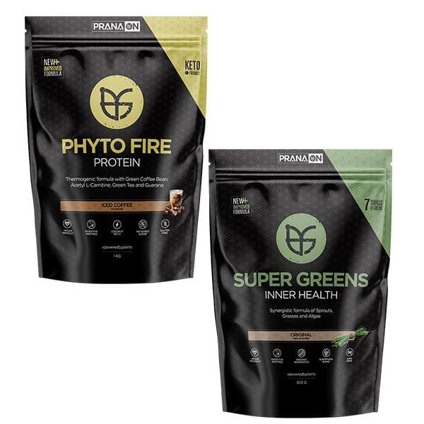 Phyto Fire Protein + Super Greens by Prana ON | Vegan