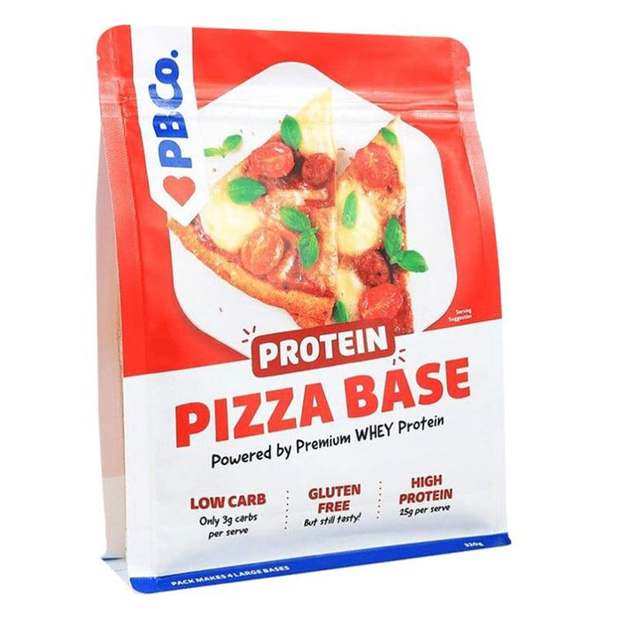 0.32KG - 0.70LB / Original Protein Pizza Base by PBCo | Low Carb, Gluten Free & High Protein | Genesis Protein Bread Co BARS AND SNACKS 9351755000113
