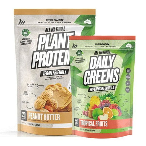Plant Protein + Daily Greens by Muscle Nation