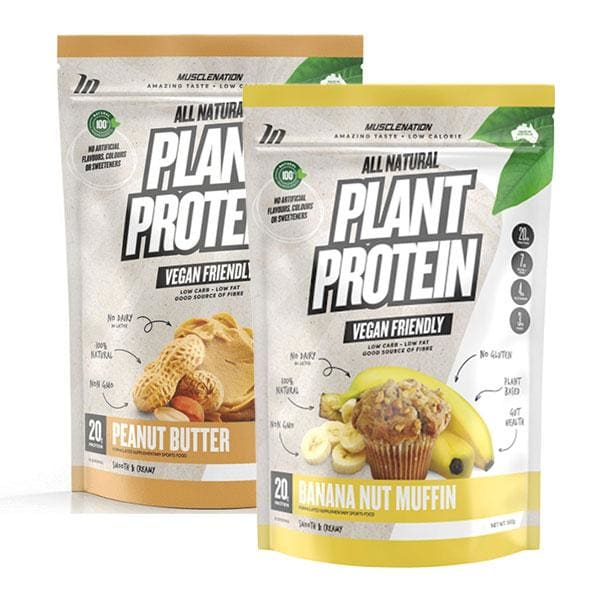 2 x Plant Protein by Muscle Nation