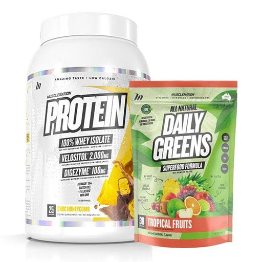 Protein + Daily Greens by Muscle Nation