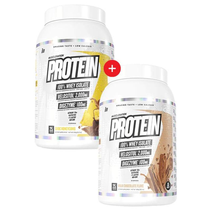 2 X Protein by Muscle Nation! Genesis