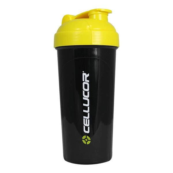 Shaker Bottle by Cellucor - 400ML / Black/Yellow - Pre