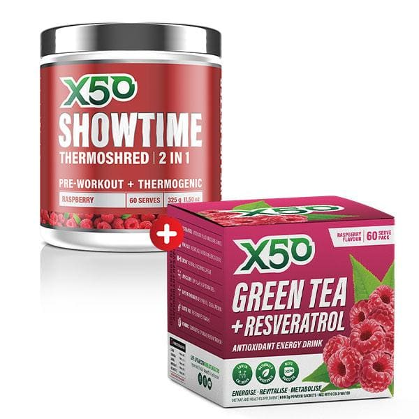 Showtime + Green Tea x50 Tribeca Health! - SUPPLEMENT PACK
