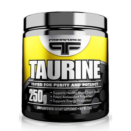 178 Serves / Unflavoured Taurine by Primaforce - Support Healthy Blood Sugar Levels! Primaforce AMINO ACID - ASSORTED POS-125164 181030004517