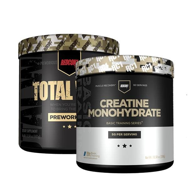 Total War + Creatine Monohydrate by Redcon1