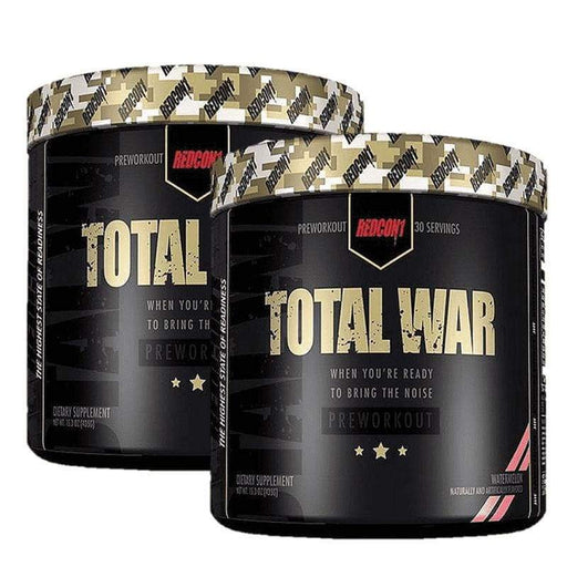2 x Total War V2 by Redcon1 | High Stim Pre-Workout |