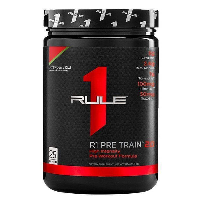 25 Serves / Candy Apple Train 2.0 by Rule 1 | Intra-Workout & Recovery Catalyst | Genesis Rule 1 Amino Acid - BCAA EAA POS-130869 TBAA290
