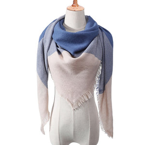 knitted spring and winter scarf cashmere