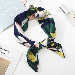 2019 new spring summer silk scarves 50*50cm
