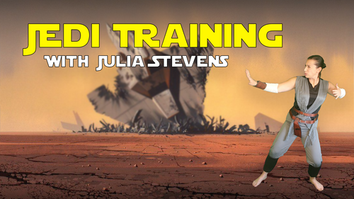 Jedi Training - with Julia Stevens (Get 25% Off with Special Offer)