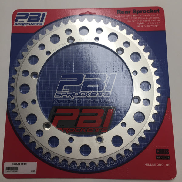Husqvarna, Rear Sprocket, All Early Models, 1980-89, 53 teeth