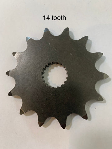 Can Am, Front Sprocket, 125/175/200/250 ,13,  14 and 15 Tooth, fits up to 1981-82