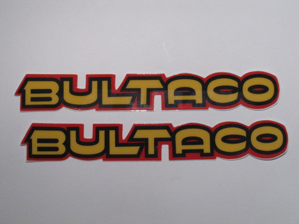 Bultaco, Pursang 360/370, Tank Decals