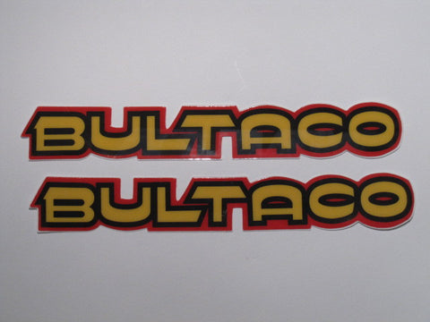 Bultaco, Pursang 360/370, Tank Decals, Reproduction
