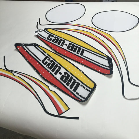 Can-Am, 1973-75 MX1/MX2 125/175/250 Decal Kit