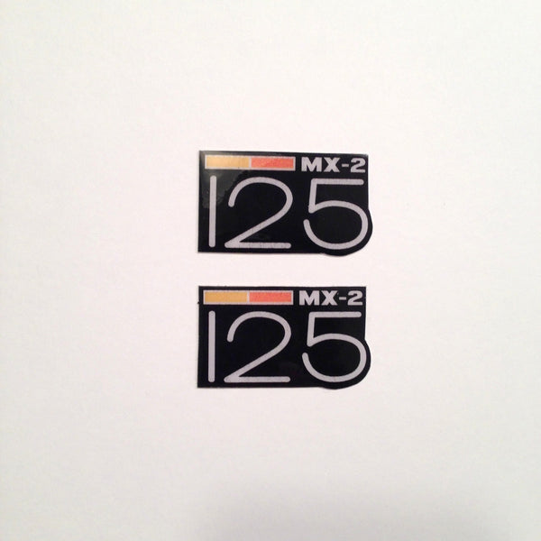 Can-Am,1973-75 MX2 125, Badge Decals