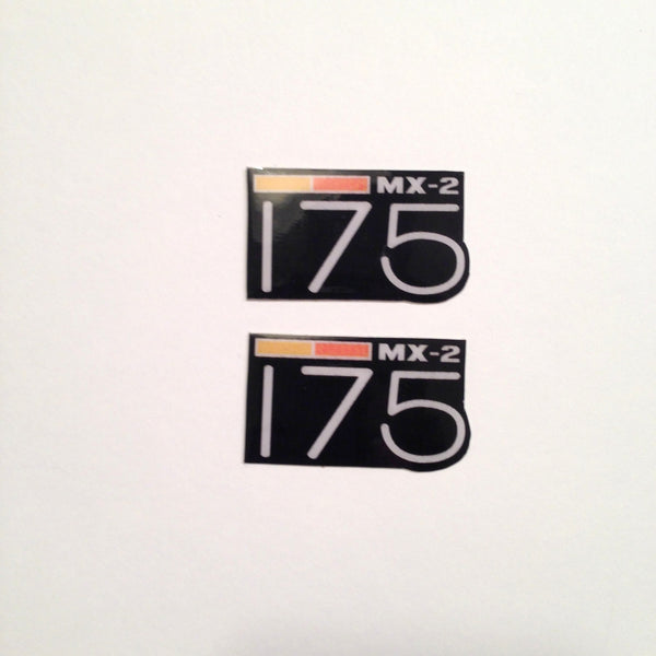 Can-Am,1973-75 MX2 175, Badge Decals, Reproduction