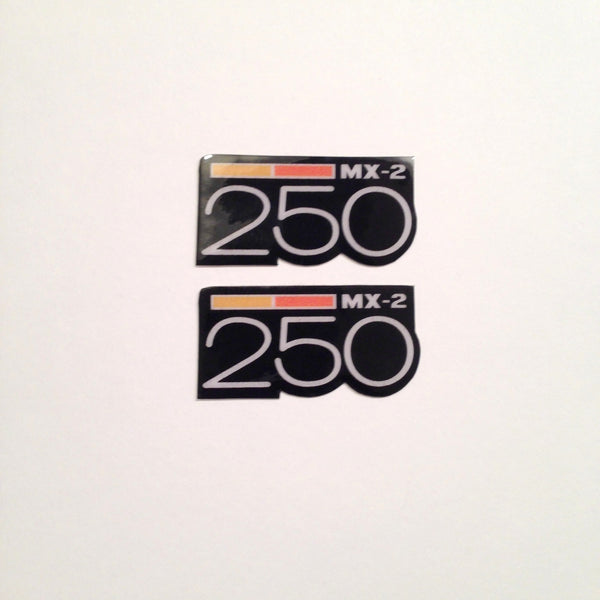 Can-Am,1973-75 MX2 250, Badge Decals