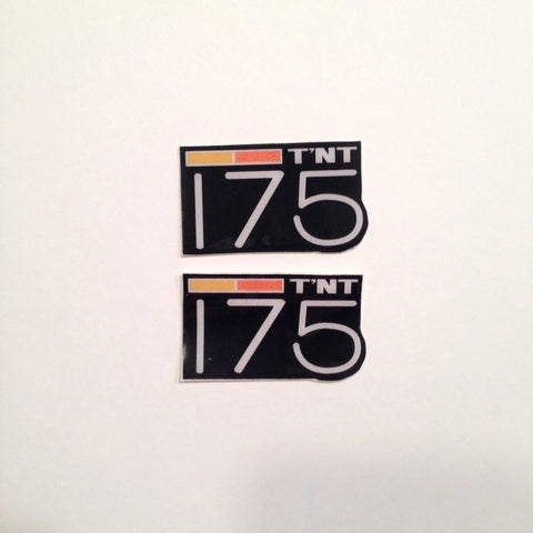 Can-Am, 1973-76, TNT, 175 Badges, Reproduction
