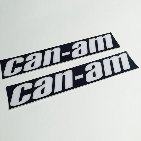 Can Am, 1977, MX3, Non perforated, Tank Decals, Reproduction