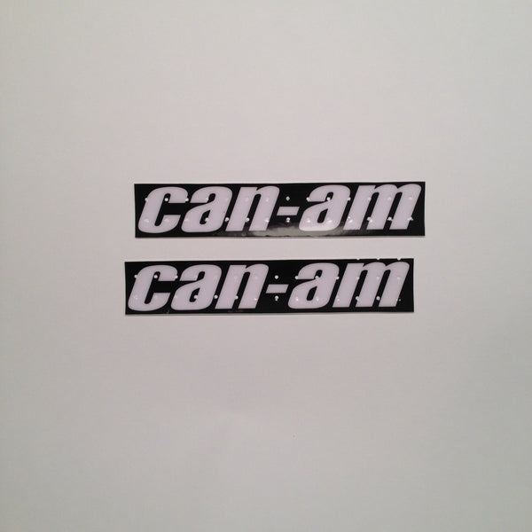 Can Am, 1977 MX3, Perforated Tank Decals
