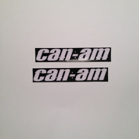 Can Am, 1977, MX3, Perforated Tank Decals, Reproduction