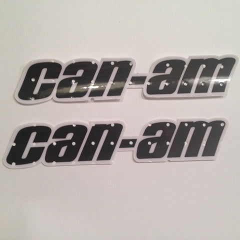 Can Am, 1977, Qualifier, Tank Decal, Reproduction