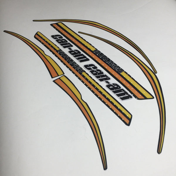 Can-Am, 1977, Qualifier, 125, 175, 250, Decal Kit