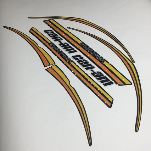 Can-Am, 1977, Qualifier, 125, 175, 250, Decal Kit, Reproduction