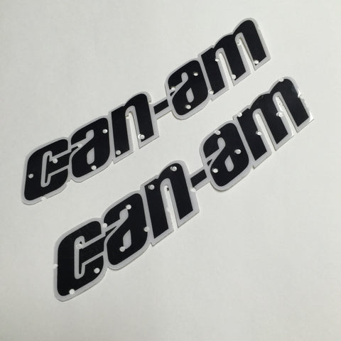 Can Am, 1978-79 Qual/MX4/MX5, Perforated Tank Decals, Reproduction