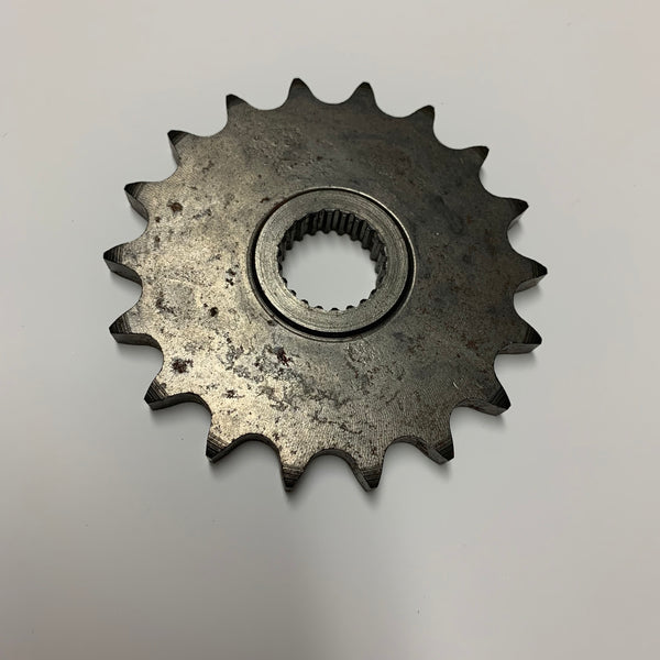 Can Am, Front Sprocket, 400 cc, Qualifier and MX6, 530 Chain, 18 tooth