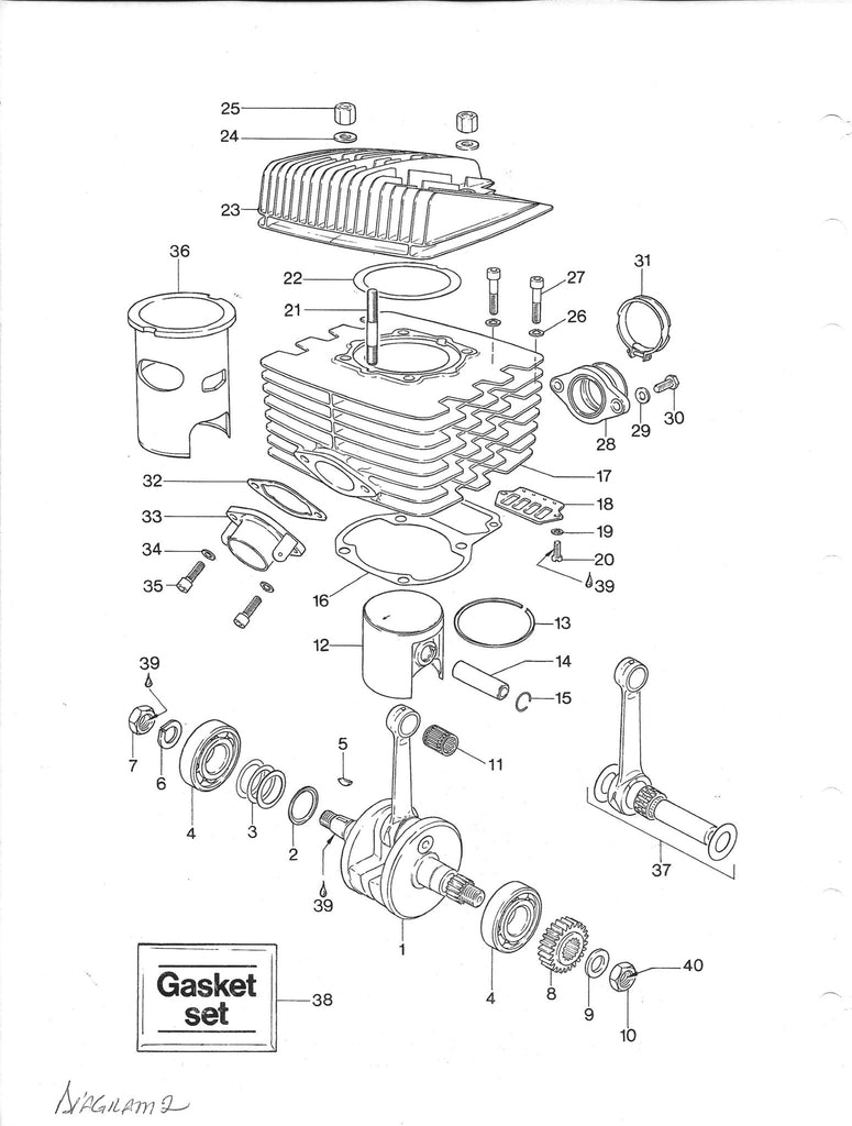 vintage roost can am 370 400 406 rotax engine seal gasket and o rh vintageroost com