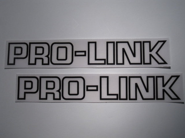 Honda, Black outline Pro-Link Swing Arm Decals, Reproduction