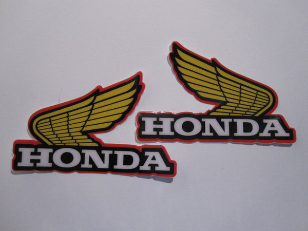 Honda, 1976-77, Wing Tank Decals